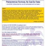 Dossier de presse 20è festival ASDN Cru 2016